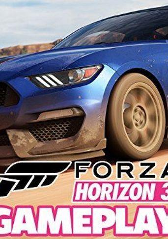 Forza Horizon 3 Gameplay Poster