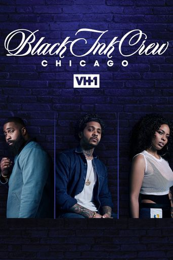 Black Ink Crew Chicago Poster
