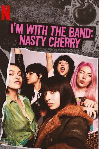 I'm with the Band: Nasty Cherry Poster