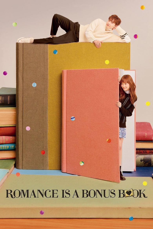 Resultado de imagem para romance is a bonus book poster
