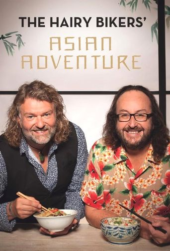 The Hairy Bikers' Asian Adventure Poster