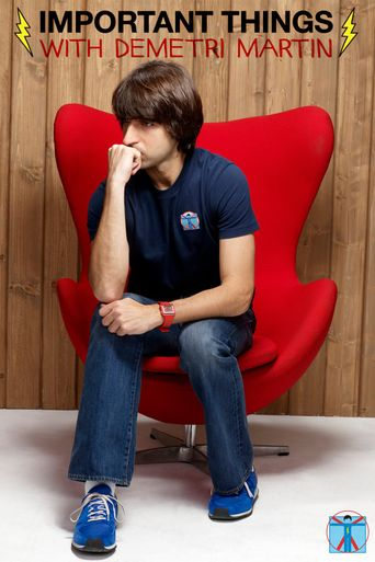 Important Things with Demetri Martin Poster
