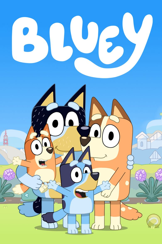 Bluey Poster