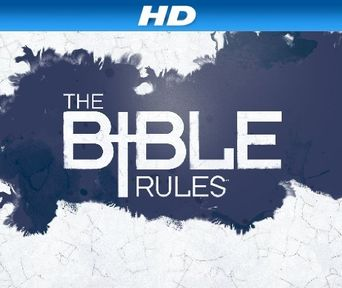 The Bible Rules Poster