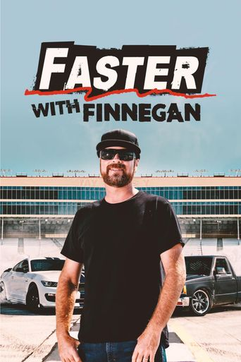 Faster with Finnegan Poster