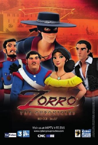 Zorro the Chronicles Poster
