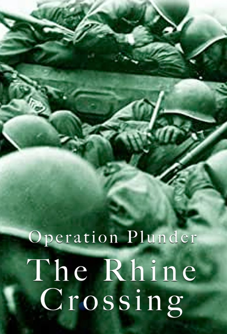 Operation Plunder: The Rhine Crossing Poster