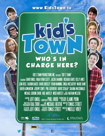 Kid's Town Poster