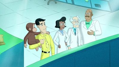 Season 08, Episode 06 Curious George, Hog Trainer