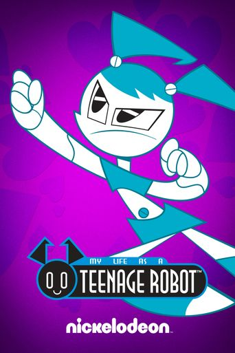 My Life as a Teenage Robot Poster