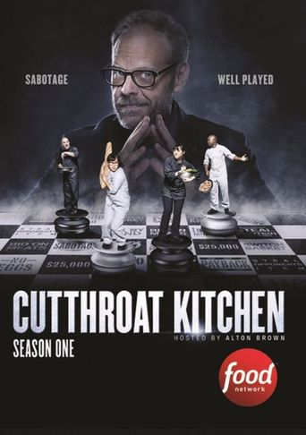 Cutthroat Kitchen Poster