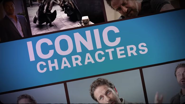 Iconic Characters Poster