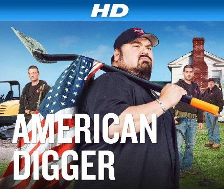 American Digger Poster