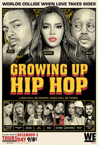 Growing Up Hip Hop Poster