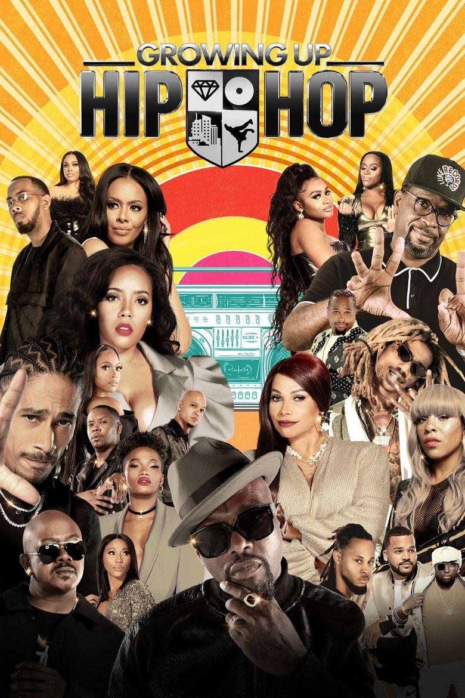 Growing Up Hip Hop Poster