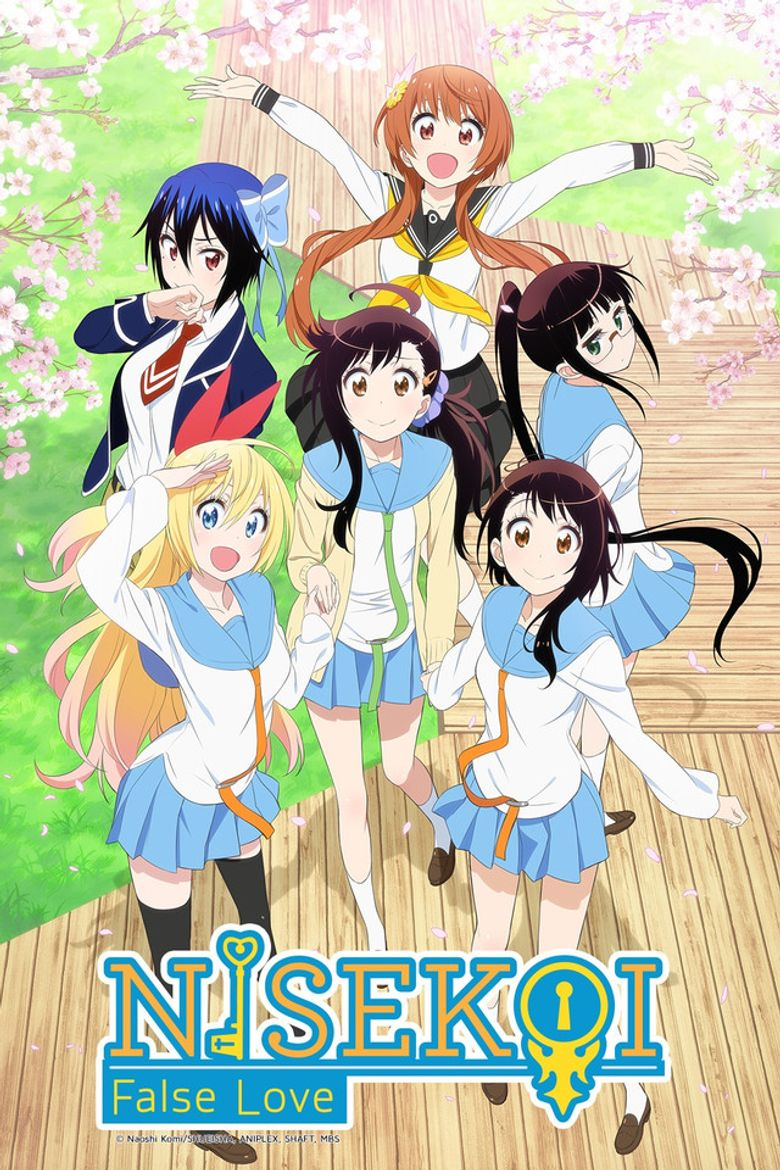 Nisekoi - Watch Episodes on Hulu or Streaming Online | Reelgood