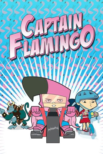 Captain Flamingo Poster