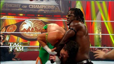 Season 01, Episode 01 WWE Tag Team Championship Match: Air Boom vs. R-Truth & The Miz