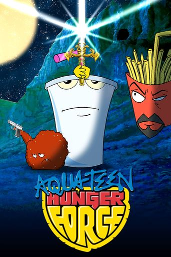 Aqua Teen Hunger Force Poster