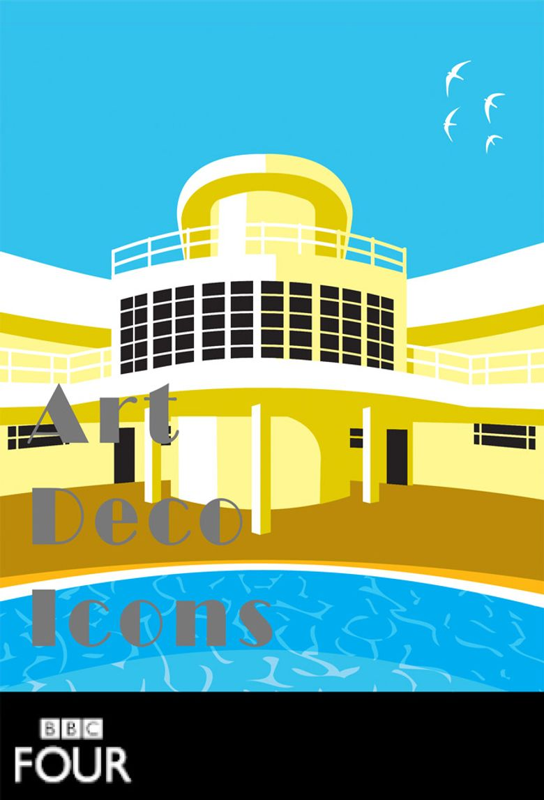 Art Deco Icons Poster