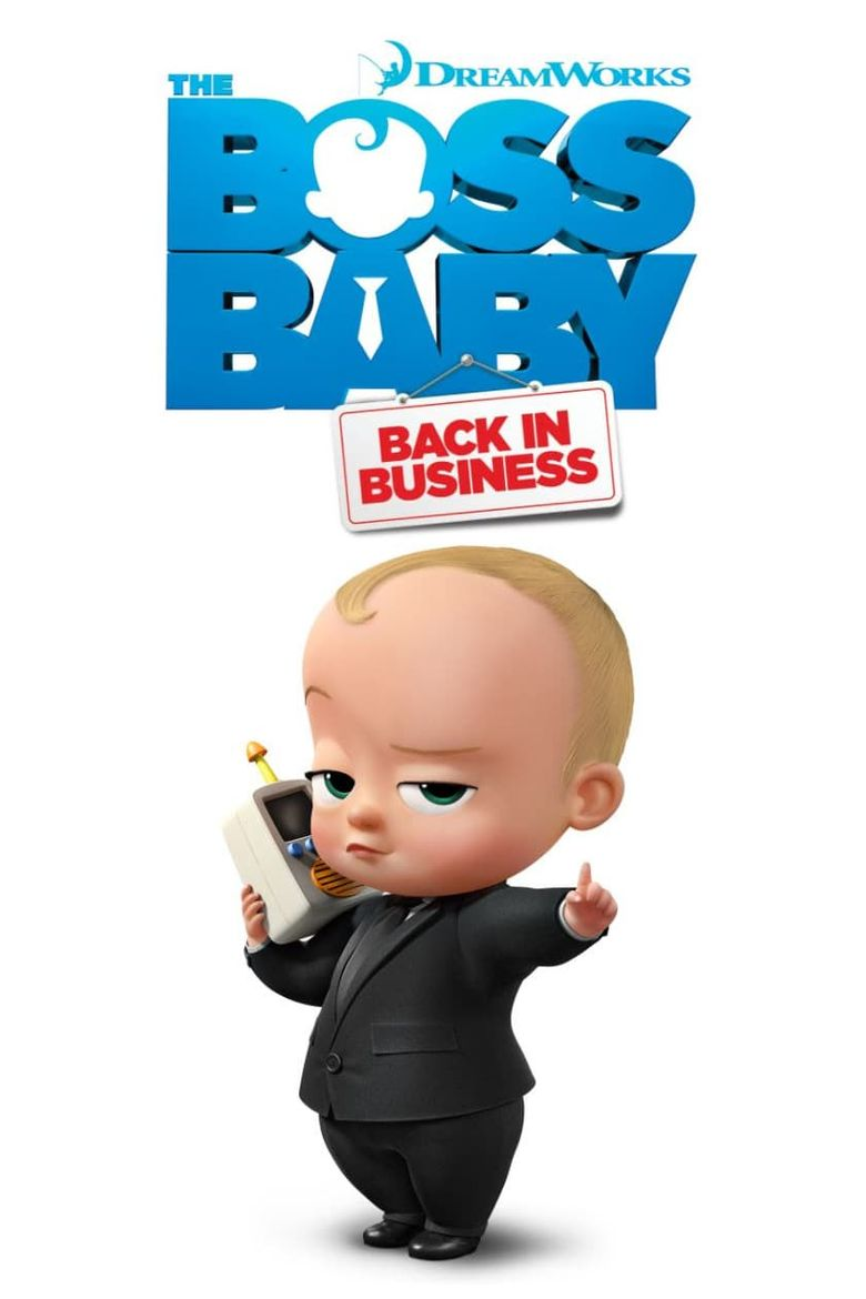 The Boss Baby: Back in Business Poster