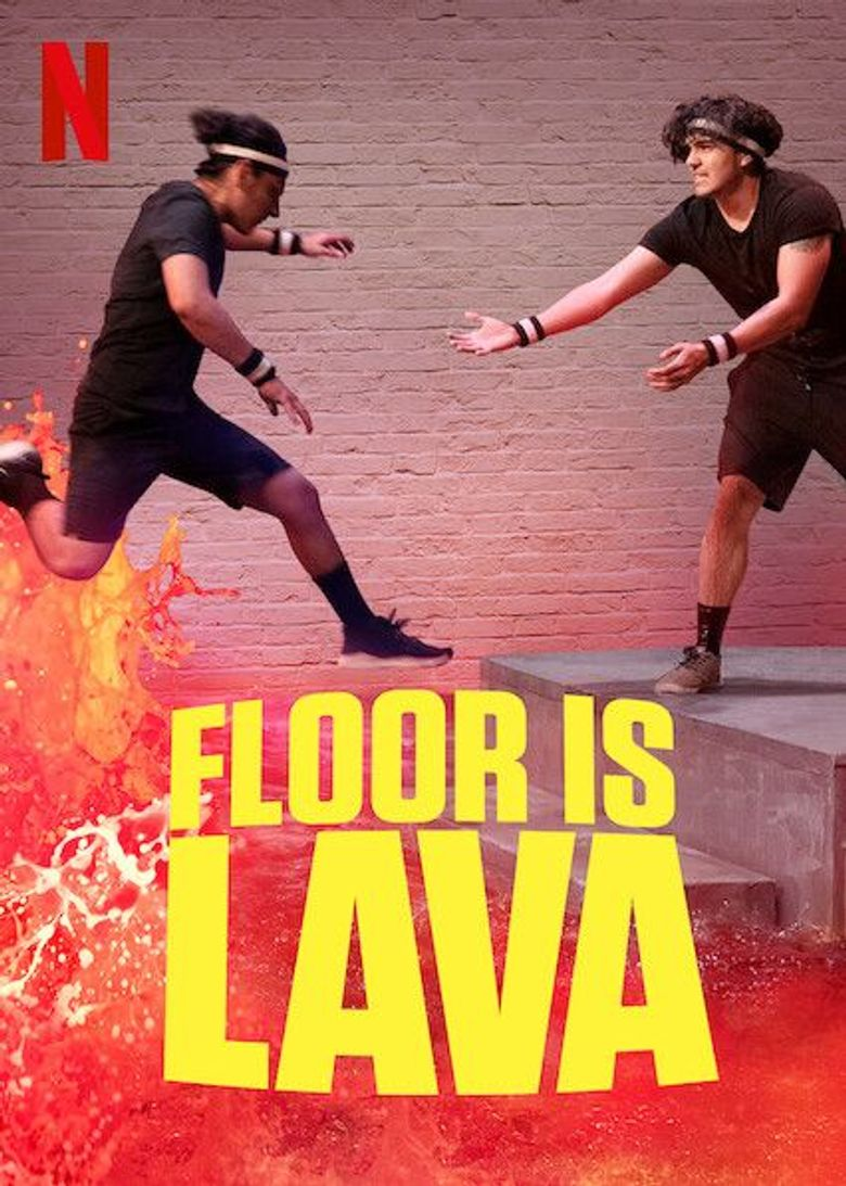 Floor is Lava Poster