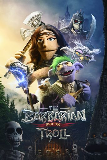 The Barbarian and the Troll Poster