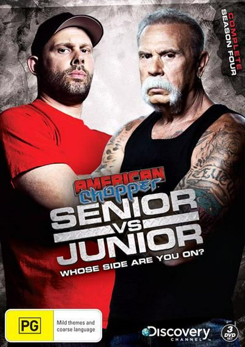 Watch American Chopper: Senior vs. Junior