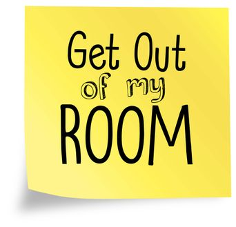 Get Out of My Room Poster