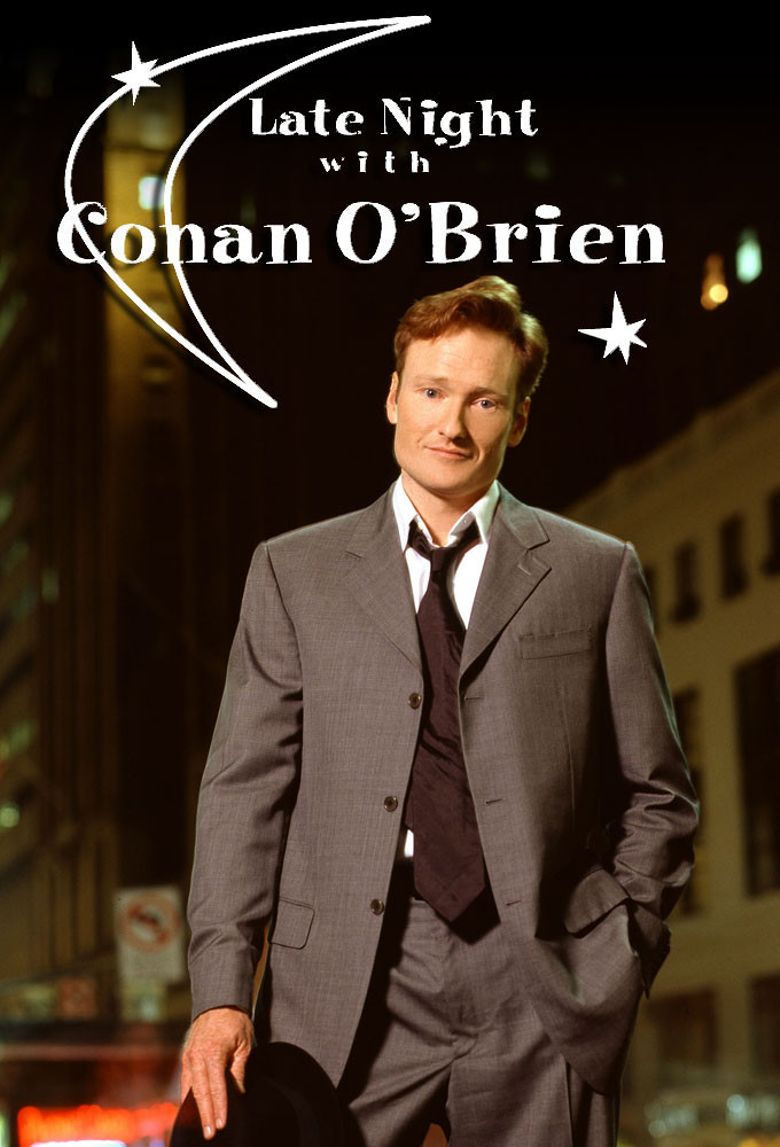 Late Night with Conan O'Brien Poster