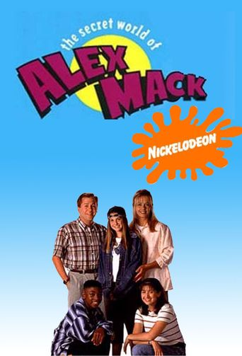 The Secret World of Alex Mack Poster