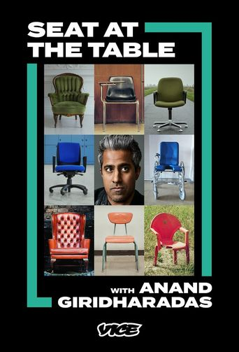 Seat At The Table With Anand Giridharadas Poster