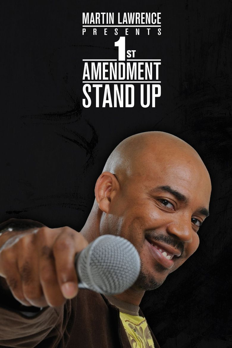 Martin Lawrence Presents 1st Amendment Stand-Up Poster