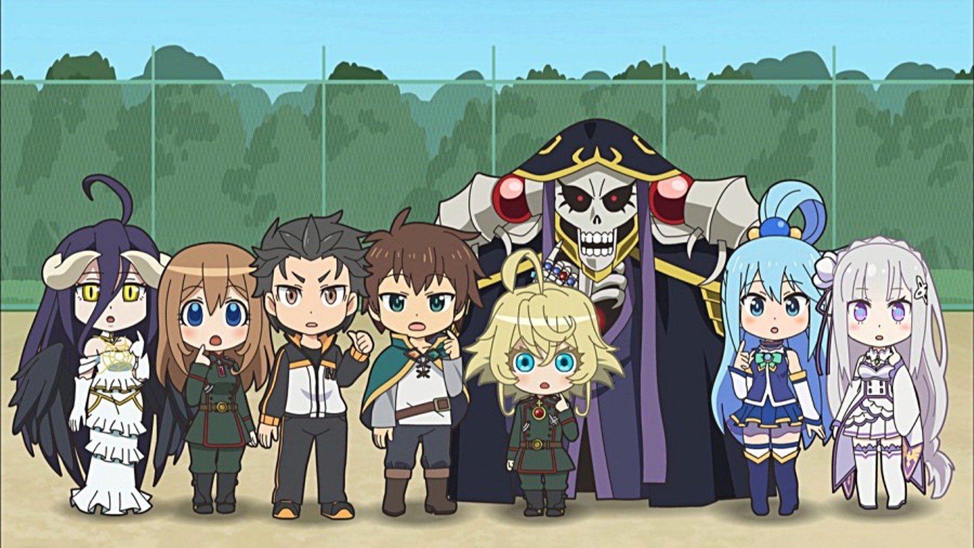 Isekai Quartet Watch Episodes On Funimation Or Streaming Online