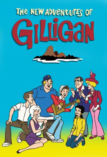The New Adventures of Gilligan Poster