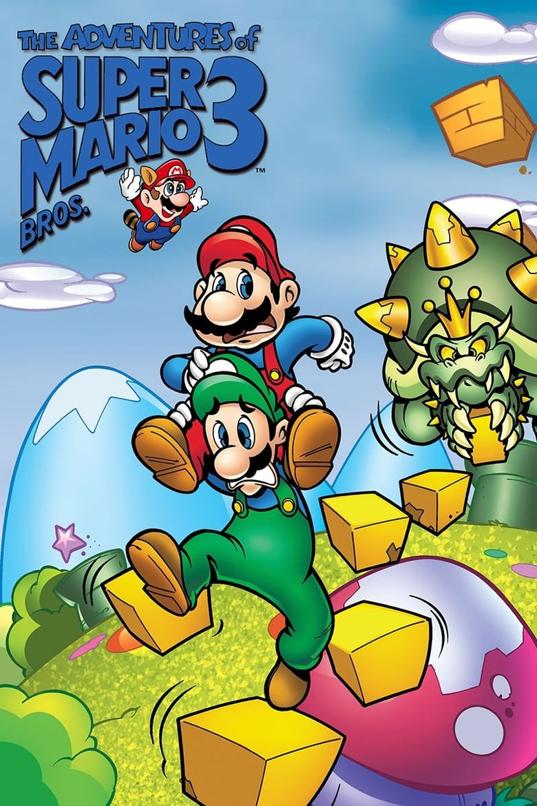 The Adventures of Super Mario Bros. 3 Poster