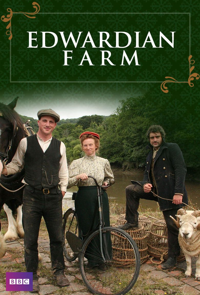 Edwardian Farm Poster