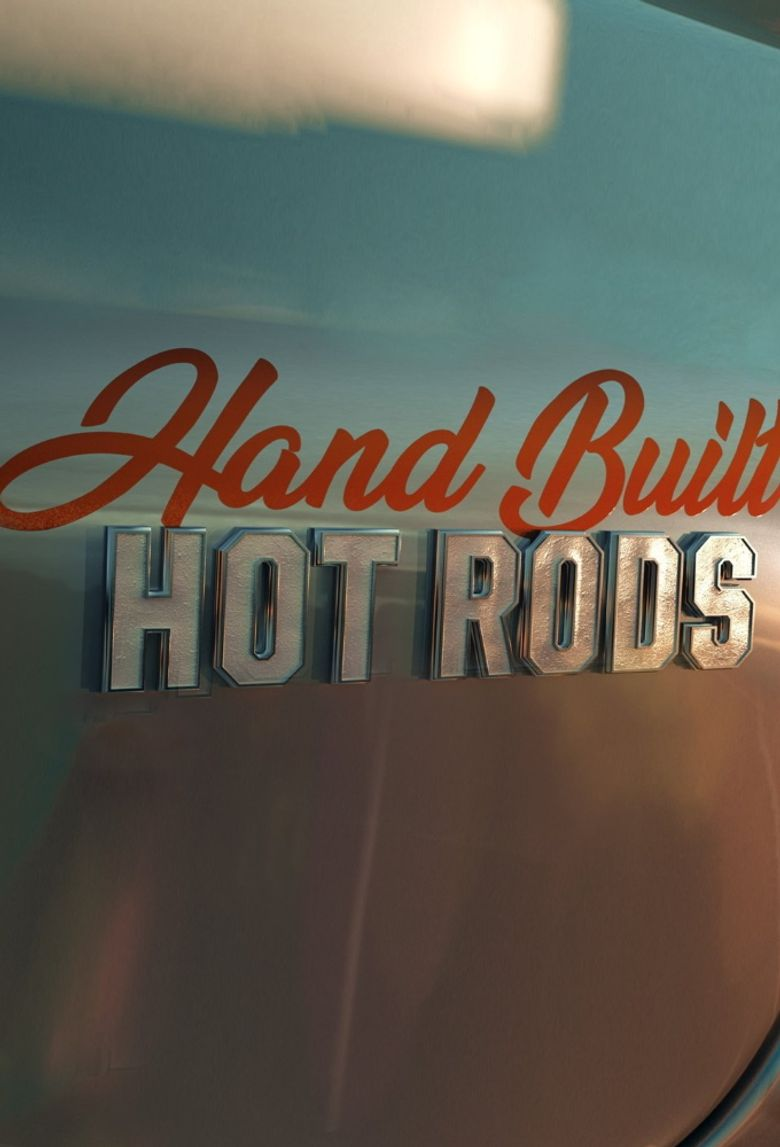 Hand Built Hot Rods Poster