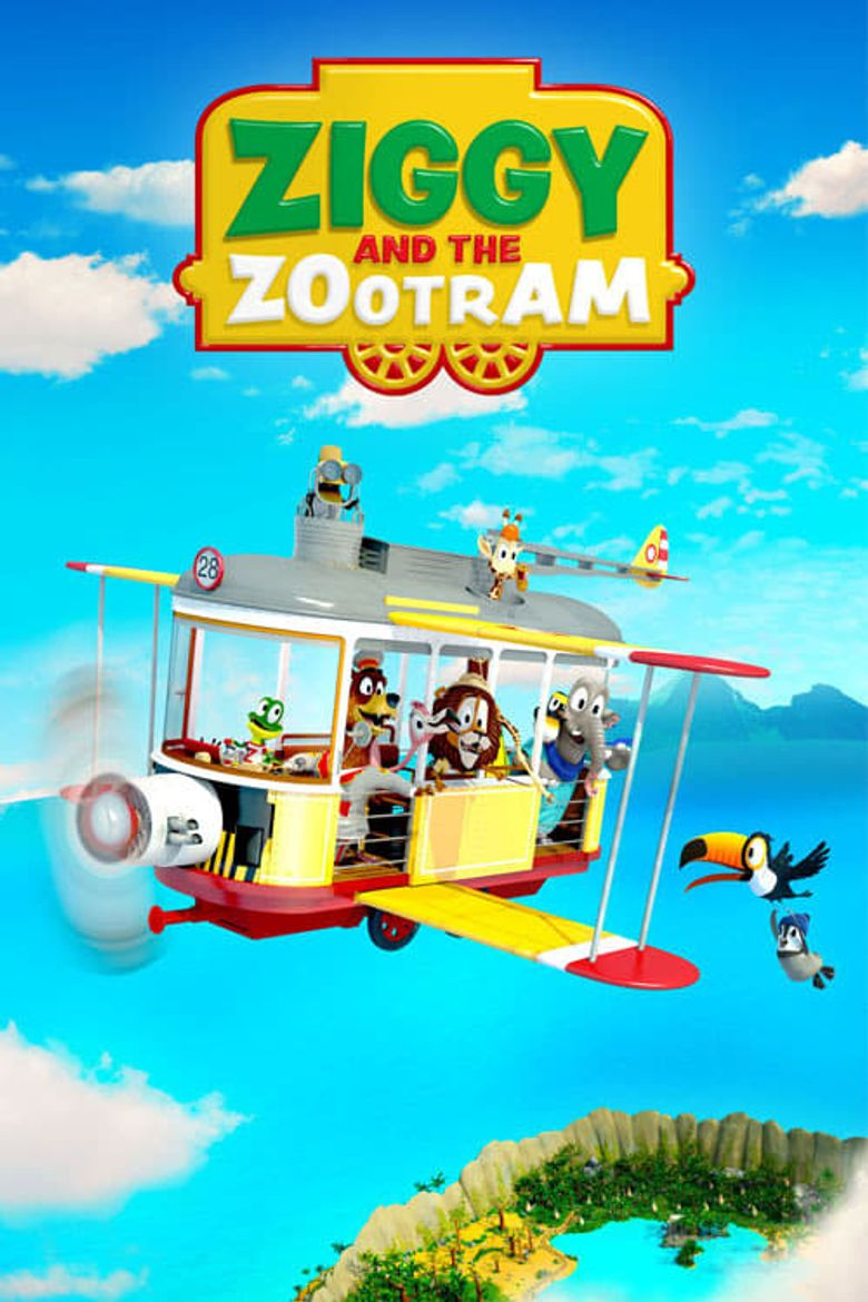 Ziggy and the Zoo Tram Poster