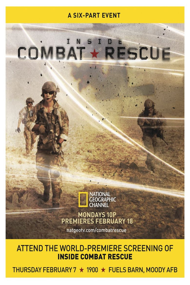Inside Combat Rescue Poster