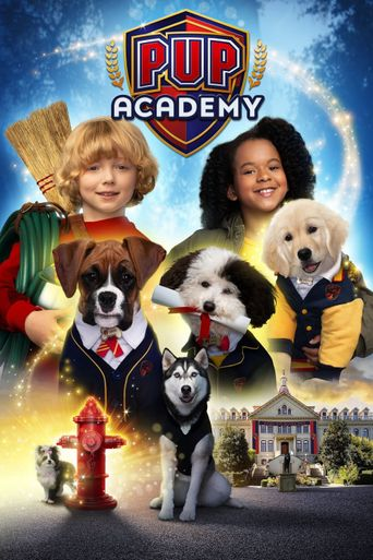 Pup Academy Poster