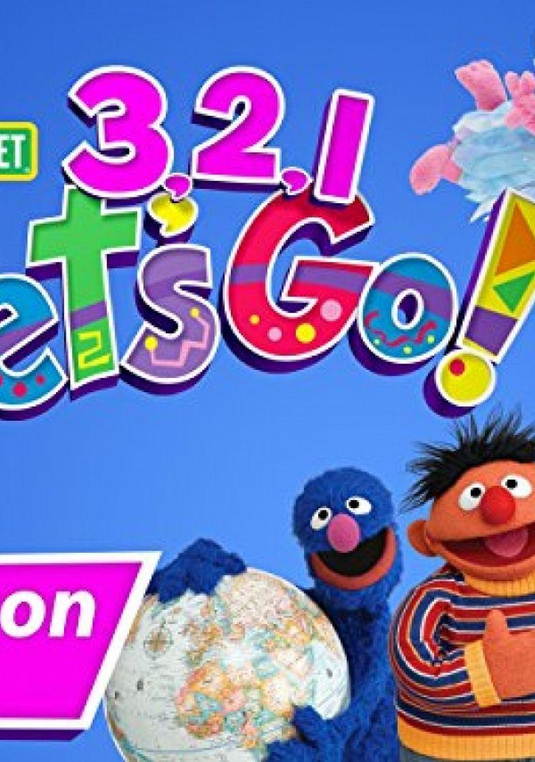 Sesame Street: 3,2,1 Let's Go Poster