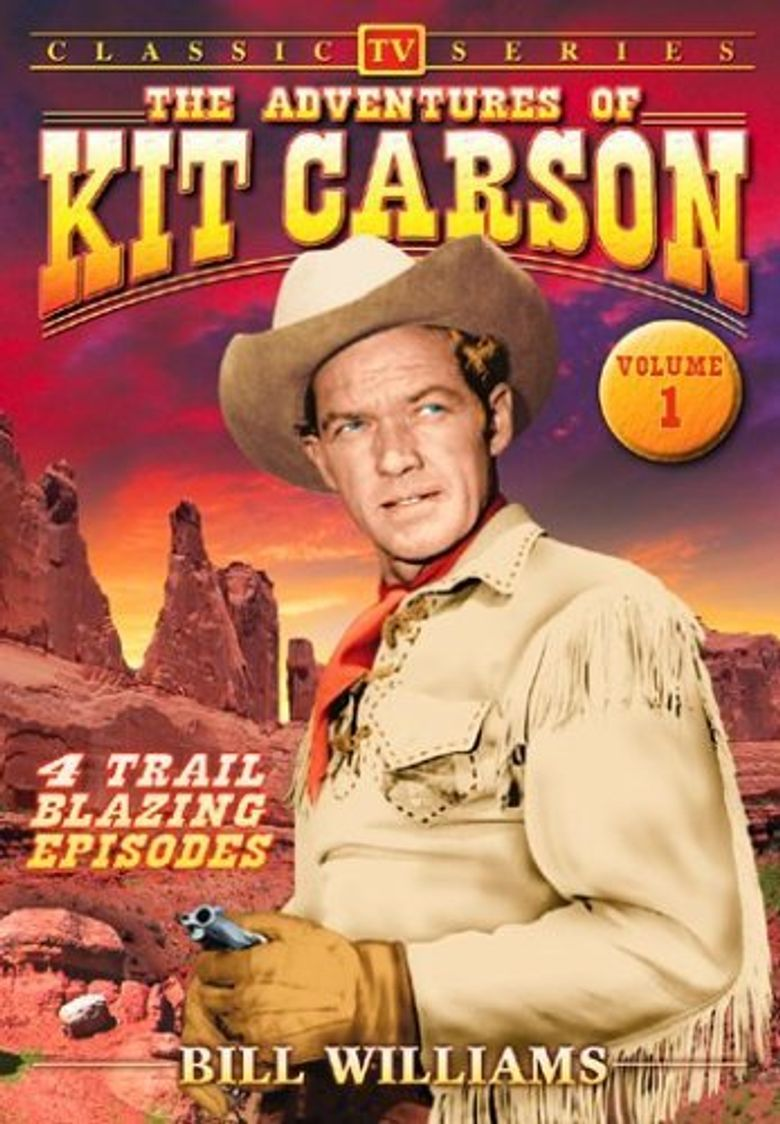 The Adventures of Kit Carson Poster
