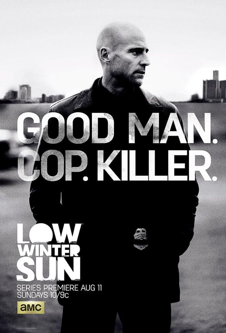 Low Winter Sun Poster