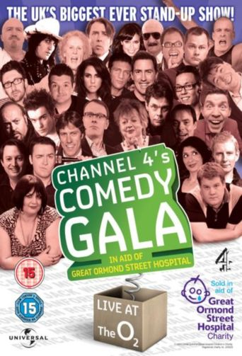 Channel 4's Comedy Gala Poster