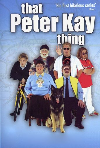 That Peter Kay Thing Poster