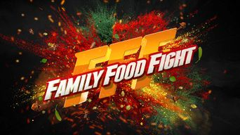 Family Food Fight Poster