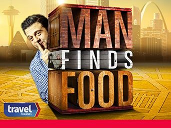 Man Finds Food Poster