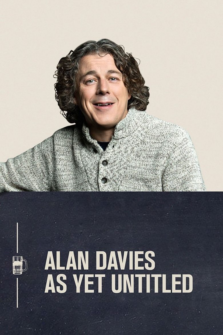 Alan Davies: As Yet Untitled Poster
