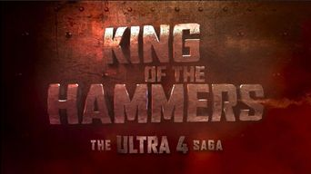 King of the Hammers: The Ultra4 Saga Poster